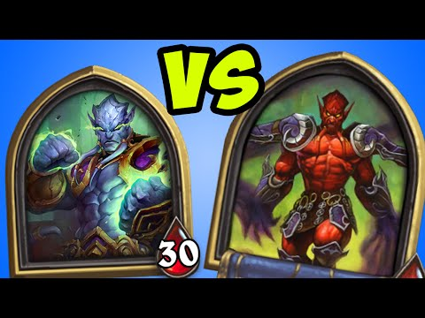 What happens when Prince Malchezaar meets Lord Jaraxxus… (One Night in Karazhan Hearthstone)