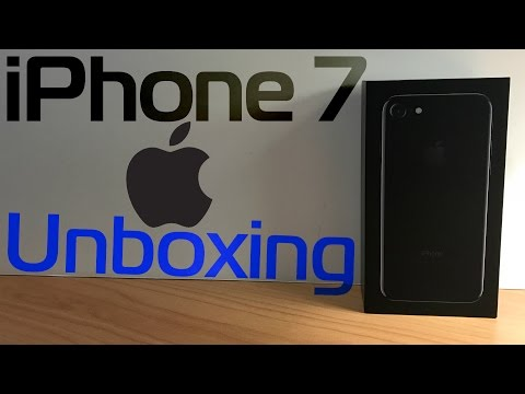 IPhone 7 Jet Black - 128GB | Unboxing, Setup, & Overview