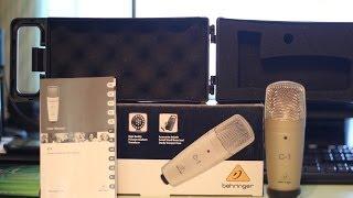 Обзор Behringer C-1: бюджетный конденсаторный микрофон для домашней студии(, 2013-11-24T23:20:26.000Z)
