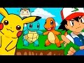 Download 🌟 CINCO BEBÉS 🌟 POKEMON Pikachu Charmander Squirtle Bulbasaur Mew | Dibujos y Canciones Infantiles MP3 song and Music Video