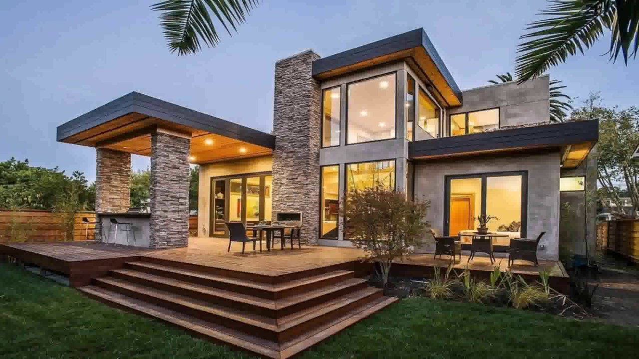 House Architecture Styles Modern - YouTube
