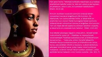 Toto - Africa (cover, tekstitys) - Etelän kuningatar uskoi Salomoa