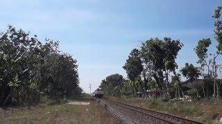 Kereta Api Argo Wilis S35 Panjang Dan Keras!!!