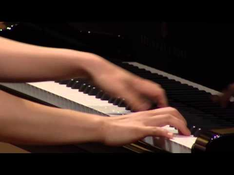 Nakagiri Nozomi at the 1st stage of the Rubinstein 2014 competition