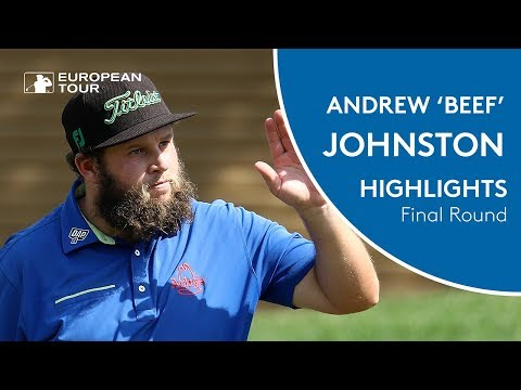 Andrew 'Beef' Johnston Highlights | Final Round | 2018 Hero Indian Open