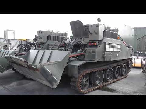 CET Combat Engineer Tractor - FV180 Witham Auctions from 2012 to 2014