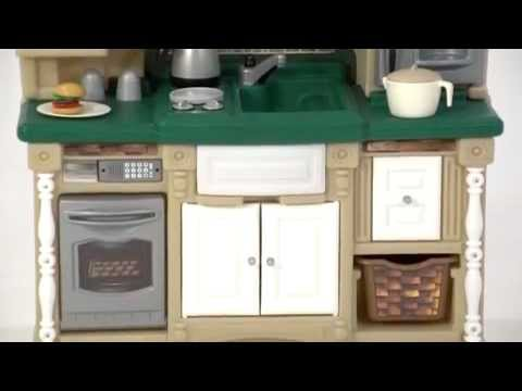 step2 lifestyle dream kitchen with green countertop - bstcountertops