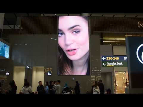 Seoul Inchoen Airport Advertising, 인천공항 광고