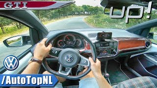 VW UP GTI 1.0 TSI POV Test Drive by AutoTopNL