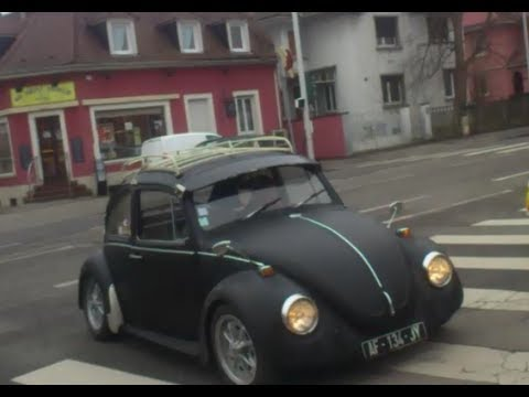 volkswagen beetle 1973 tuning flat 4 great sound youtube. Black Bedroom Furniture Sets. Home Design Ideas