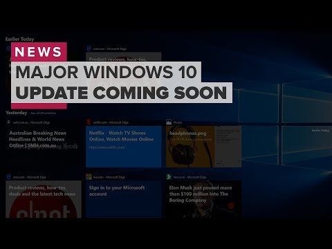 Spring Windows 10 update coming April 30 (CNET News)