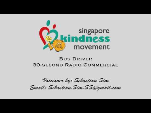 Singapore Kindness Movement 30-Second Radio Commercial