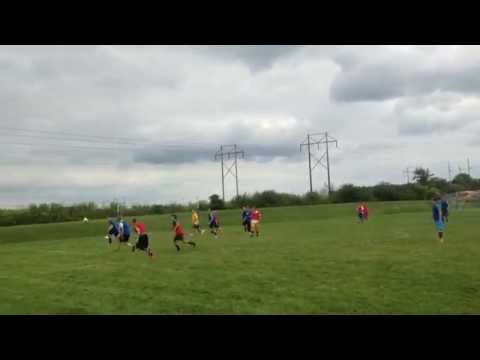 Blanchester High School Soccer Practice