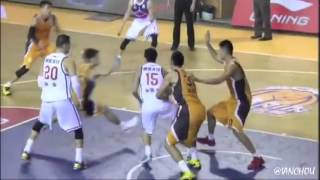 [11.01.2015] Tien Lei 田壘 13pts in CBA 2015-16 Round 1 highlight