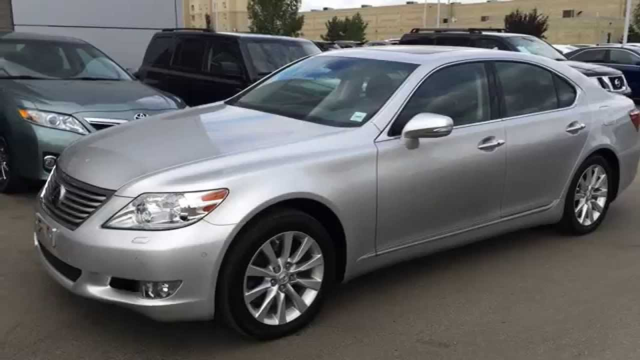 Lexus Certified Pre Owned Silver 2011 Ls 460 Awd