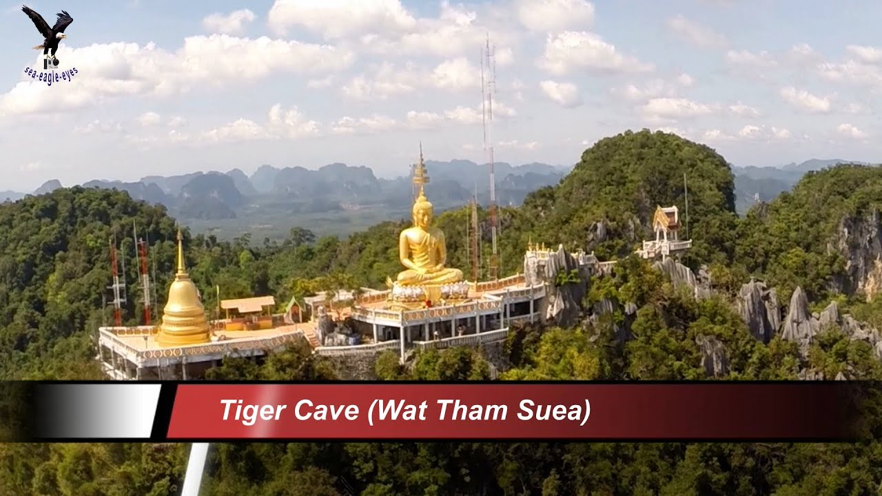 Holiday in Krabi 2014 with my drone. Tiger Cave (Wat Tham Suea)