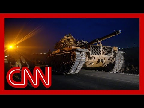 Turkey attacks US allies after Trump stands down