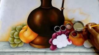 Pintando Uvas Com Ivanice Isabel