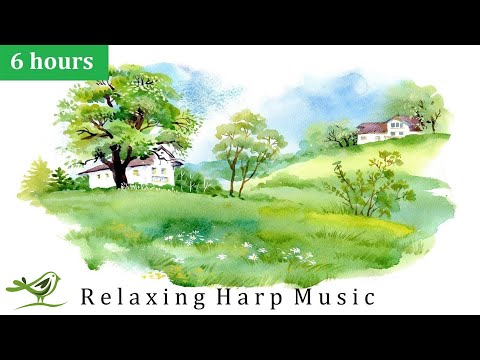 Relaxing Harp Music: Stress Relief, Sleep, Meditation, Spa | Instrumental Background Music ★54