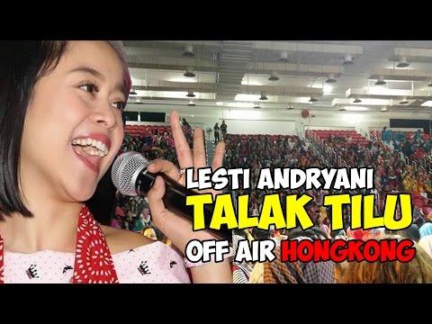 """LESTI """"TALAK TILU"""" SAMBIL GOYANG BANG JALI DI HONGKONG"""