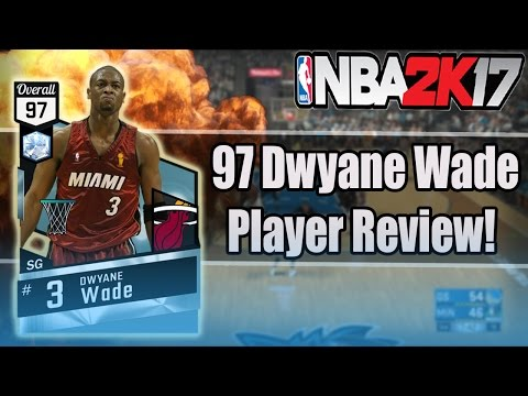 NBA 2K17 - MyTeam - DIAMOND DWYANE WADE! (97!) REVIEW! | GAMEPLAY + IN GAME STATS!
