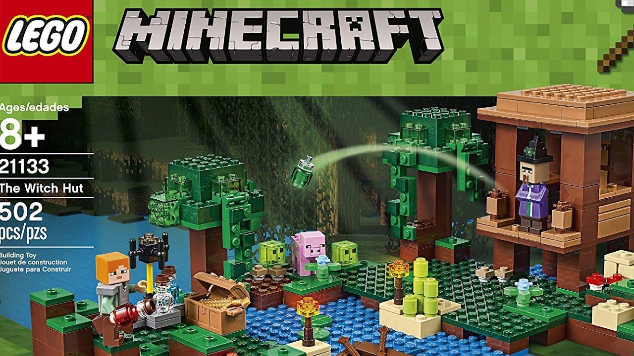 Lego Minecraft 21133 La Cabana De La Bruja 2017 Juego De