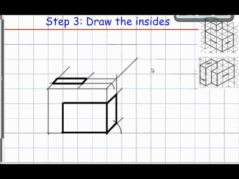 Cavalier Vs Cabinet Oblique Drawings - YouTube