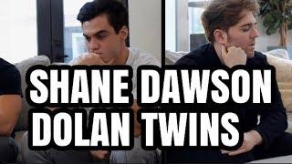 SHANE DAWSON & DOLAN TWINS DISS JAMES CHARLES?