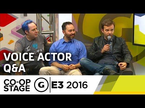 Critical Role Voice Actor Q&A - E3 2016 GS Co-op Stage