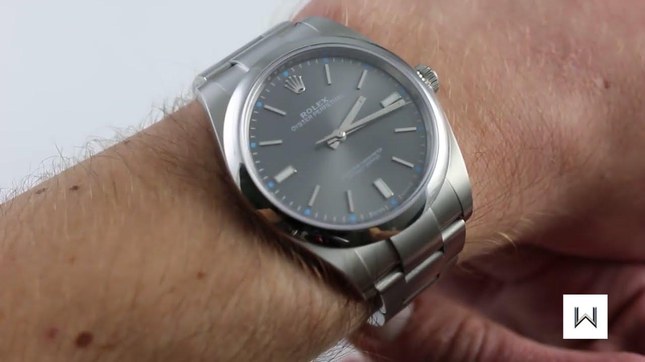 92defb0e64aa Rolex Oyster Perpetual 39 Ref. 114300 Luxury Watch Review - YouTube