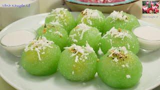 BÁNH BỘT BÁNG - CHÈ BỘT BÁNG - Bí quyết nhồi Bột KHÔNG DÍNH TAY - Tapioca pearl cake by Vanh Khuyen