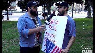 Demonstrators Protest Trump's DACA Decision | FLECCAS TALKS