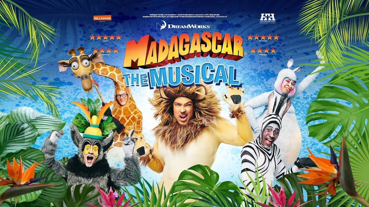Madagascar The Musical 2019 - Rehearsals @ Jerwood Studios