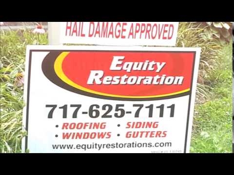 Roofing Storm Damage Professionals of Lancaster County PA - Equity Restorations