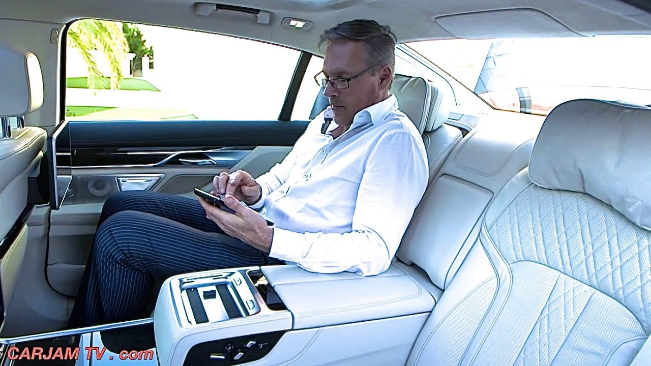 BMW 7 Series 2016 INTERIOR BMW G11G12 Commercial BMW 750Li xDrive