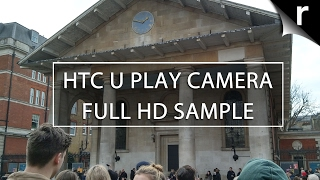 HTC U Play camera video test (Full HD video sample)