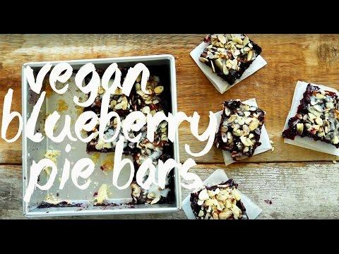 Almond Lemon Blueberry Pie Bars | Minimalist Baker Recipes