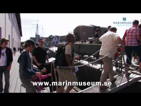 Marinmuseum Karlskrona; på land, på vatten - på riktigt!