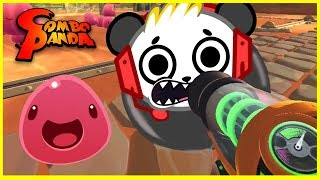 Combo's Cute Slime Hunting Day! Let's Play Slime Rancher with Combo Panda