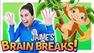 Walking Through The Jungle (Jaime's Brain Breaks) | Cosmic Kids