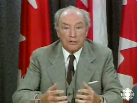 Pierre Trudeau speaks out against Quebec sovereignty