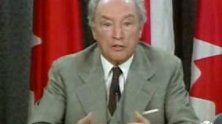 Pierre Trudeau speaks out against Quebec sovereignty