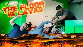 Minecraft Vlog - THE FLOOR IS LAVA!!!