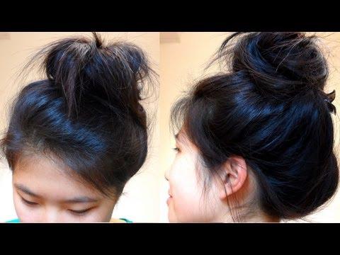 quick-hairstyle-for-bad-hair-days!-(diy-sock-bun)