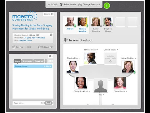 Build Your Business with MaestroConference's Platform for Interactive, Virtual Events