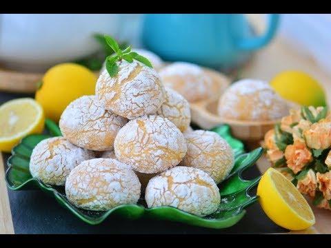 En Kolay Limonlu Çatlak Kurabiye Tarifi ( Margarinsiz,lezzet  Garantili Nefis Tarif)