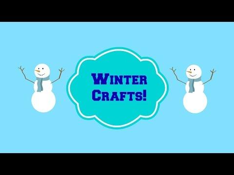 Toddler/Preschool Winter Crafts!