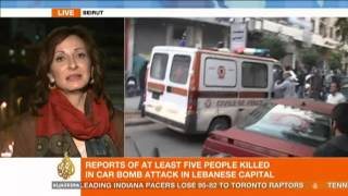Powerful explosion rocks Hezbollah stronghold in Beirut