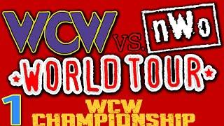 WCW vs nWo World Tour Part 1 - World Championship Playthrough w/ ??? | Nintendo 64