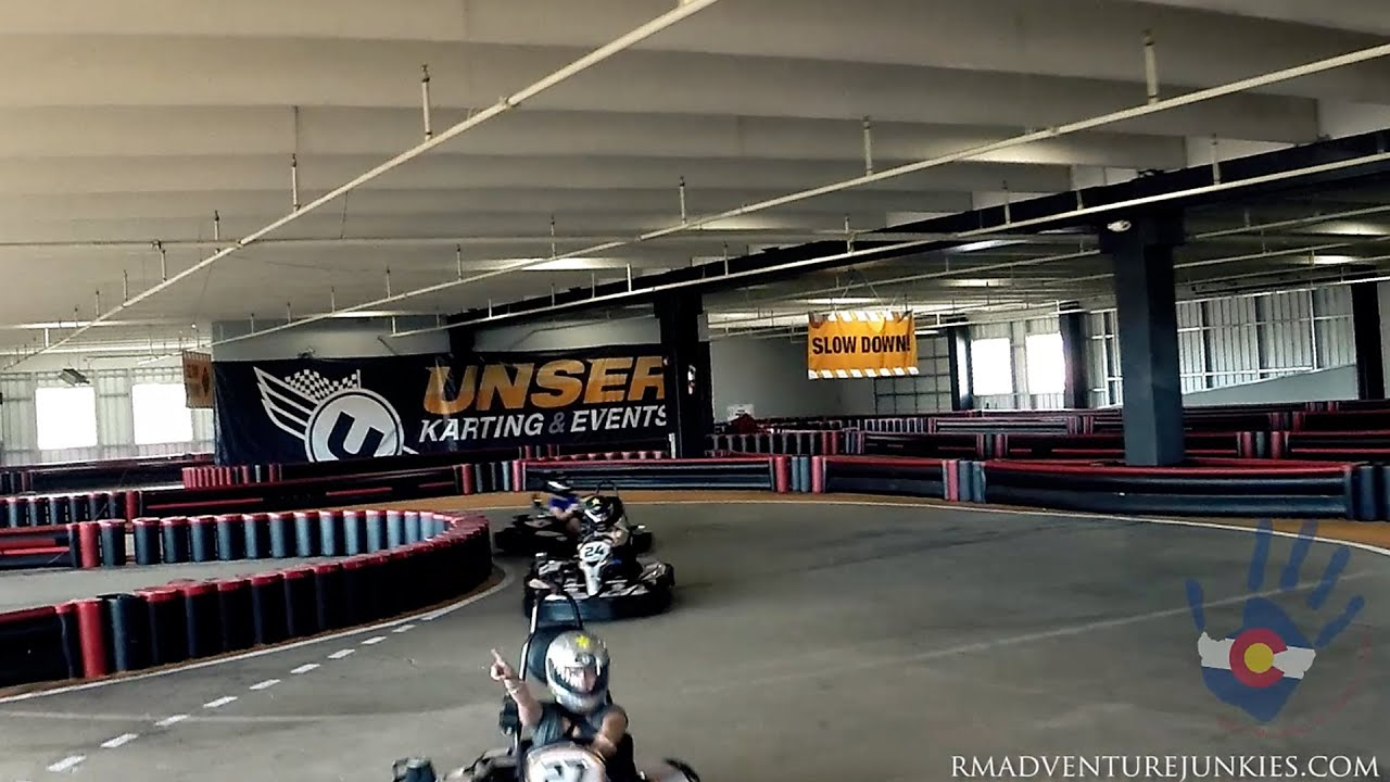 kart over colorado Extreme Karting | Whats is like living in Colorado | Unser Racing  kart over colorado
